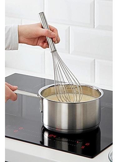 Kitchen Love Paslanmaz 35Cm Çırpıcı Gri